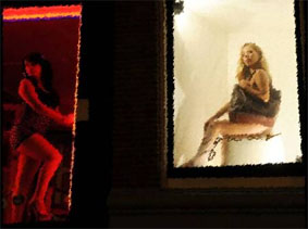 prostitute red light district